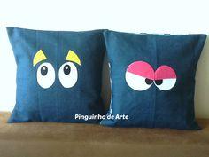 Pinguinho de Arte: Meus trabalhos com Tecidos