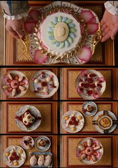 Marie Antoinette  style delicacies