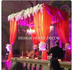 Stunning sweetheart stages of 2014 indian tops and wedding vendors orange and pink mandap ahmedabadwedding decor junglespirit Image collections