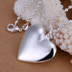 7mm x 33mm Jewel Tie 925 Sterling Silver Heart Antiqued-Style Love Birds on Tree Limb with Lobster Clasp Pendant Charm