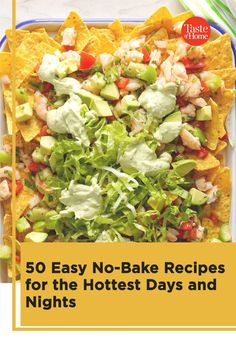 When the temperatures climb, skip the oven. These easy no-bake recipes let you have breakfast, lunch, dinner and dessert on the table in a snap—no oven required. Easy Summer Meals, Summer Food, Summer Recipes, Easy Baking Recipes, Cooking Recipes, Cold Meals, Salads, Oven, Ipad