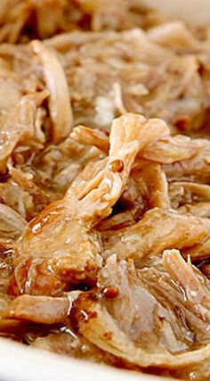 (Pressure Cooker) Apple Cider and Brown Sugar Pulled Pork Barbecue