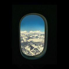 gedelapena: Hometown here I go! #Andes #mountain #peak #snow #ski #snowboard #wanderlust #winter #window #view #peak #blue #christmas #xmas #navidad #aeroplane #Argentina #chile #santiago #buenosaires #mendoza #sky #fly #plane #flight #lan #iberia #airplane #hometown #travel #instatravel