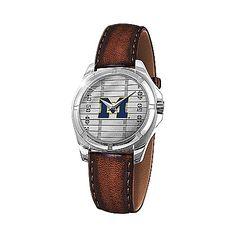 Michigan Wolverines Men's Watch: Go Blue Men's Watch