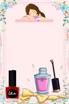 Manicure e Pedicure Nail Salon Design, Pink Nail Polish, Pink Nails, Nail Nail, Manicure Pictures, Nail Logo, Polish Posters, Nail Designer, Poster Design