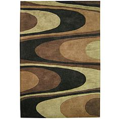 @Overstock - A unique abstract pattern highlights this hand-tufted wool rug. This area rug features shades of brown, charcoal grey, olive green, acorn brown and black.http://www.overstock.com/Home-Garden/Hand-tufted-Metro-Classic-Brown-Wool-Rug-8-x-10/5111212/product.html?CID=214117 $316.29