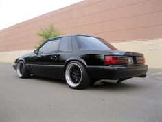 If I ever get another Fox body, I'd like a notchback.