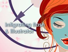 Vector Tutorial : Exporting animated SWF files from illustrator - Art inspire by Asmaa Murad