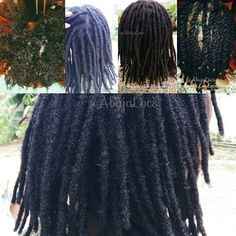 """31 Likes, 1 Comments - AbujaLocs On Wheels (@abujalocs) on Instagram: """"No wrapping, thread, glue or donor locs. All loc extensions are CUSTOM MADE to fit each clients…"""""""