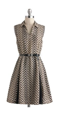 Cute, love this. Would be nice with a pair of black knee-high boots and a cute cardi