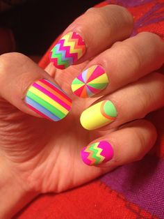 #color #funky #nails