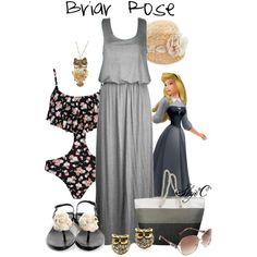 """Briar Rose - Summer / Beach - Disney's Sleeping Beauty"" by rubytyra on Polyvore"