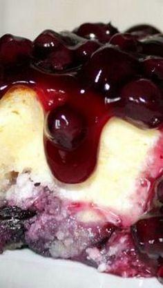 Sugar Cookie Blueberry Cheesecake !
