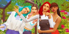 Best friend group posesGuys im super excited to release this because it if my first pose pack. There is 4 poses which are all shown above. You need: Pose player Teleport any sim TOU: claim my. 4 Best Friends, Best Friend Poses, Teen Friends, Sims 4 Cas, My Sims, Sims Cc, Sims 4 College, Group Poses, Sims Mods