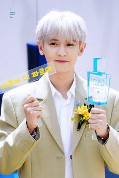 190509 ACQUA DI PARMA 찬열 / 요뎡이지 #찬열 #EXO #CHANYEOL #엑소 #봄여름가을겨울 #봄_여름_가을_겨울 #SSFW @weareoneEXO #CHANYEOLAcquaDiParma Baekhyun Chanyeol, Luhan And Kris, Angels Beauty, Exo Official, Fandom, Exo Members, Husband Love, Chanbaek, Super Powers