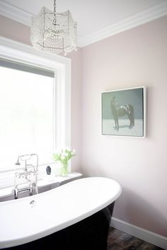 Light pink glam bathroom decor | Photography: Kacey Gilpin
