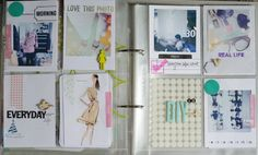 Project Life ideas via Persnickety Prints Blog