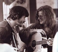Rick Danko and Janis Joplin by lourdes