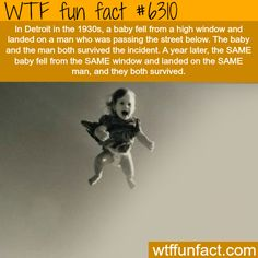 The most unbelievable coincidence in the world - WTF fun facts