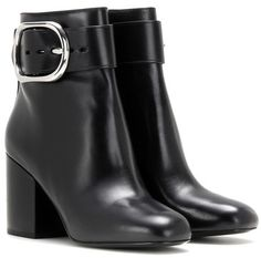 Alexander Wang Kenze Leather Ankle Boots