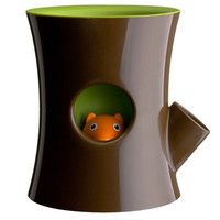 Log and Squirrel Plant Pot at Firebox.com