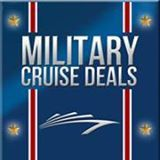 """Military Cruise """"will ALWAYS be less expensive than online agencies and the cruise lines directly. Try us and see for yourself. We have a great selection of cheap military cruises.""""  Learn More."""