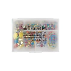 Creative Impressions Tropical -Embellishment Kit - more than 150 eyelets, brads in several shapes and sizes and more. PRECIO $ 98