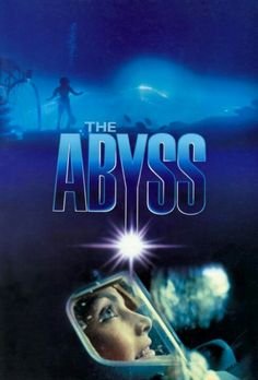 The Abyss , starring Ed Harris, Mary Elizabeth Mastrantonio, Michael Biehn, Leo Burmester. A civilian diving team are enlisted to search for a lost nuclear submarine and face danger while encountering an alien aquatic species. Beau Film, Fiction Movies, Science Fiction, Sf Movies, Alfred Hitchcock, Movies Showing, Movies And Tv Shows, Monsieur Cinema, Romantic Comedy Movies