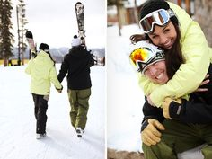 keystone colorado ski engagement   heather & jake   Kate Botwinski Photography