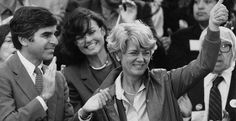 On This Day 1984:  Geraldine Ferraro becomes the first woman nominated for vice president on a major national ticket in the U.S.