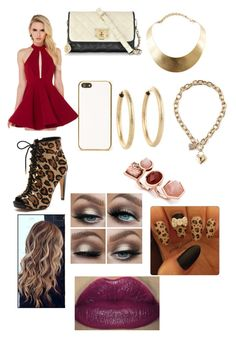 """""""Alone"""" by diane-ds ❤ liked on Polyvore featuring beauty, Akira Black Label, Sam Edelman, Skinnydip, DKNY, GUESS and Kenneth Jay Lane"""