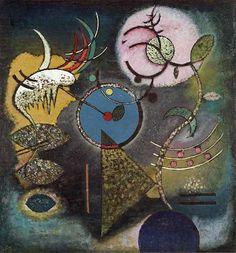 "Wassily Kandinsky - ""Silent"", 1926"