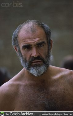Sean Connery in Robin and Marian Sean Connery, James Bond, Poseidon, Film Man, Grey Beards, Bear Men, Hairy Chest, Older Men, Actors