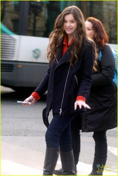 Hailee Steinfeld... she has the exact same birthday as me, except she might be a lot more fortunate (: