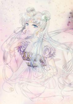 World of Eternal Sailor Moon • Fanart by司城遼子.
