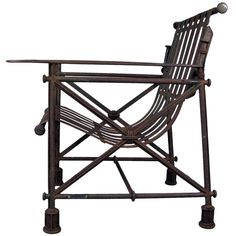 1stdibs - Forged Iron Chair by Ilana Goor explore items from 1,700  global dealers at 1stdibs.com