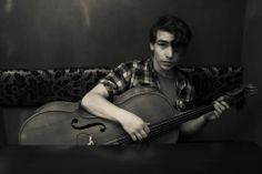 Joe Kaplan - violoncellist from The Probe (indie alternative music)