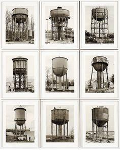 Bernd and Hilla Becher. Water Towers (Wassertürme). 1980 - Guggenheim Museum