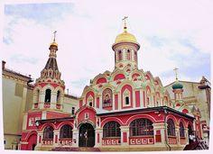 Собор Казанской иконы Божией Матери на Красной площади   Flickr - Photo Sharing!