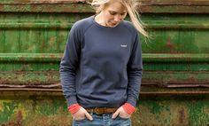tufton crew sweater   howies