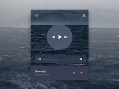 Just a music widget, a small part of a fun project we are working on.