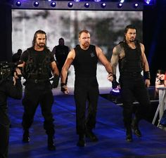 The shield Dick27Ambrose Roman Reigns Shield, Wwe Roman Reigns, Dean Ambrose, Wrestlemania 29, Wwe Funny, The Shield Wwe, Wwe Wallpapers, Seth Rollins, Professional Wrestling