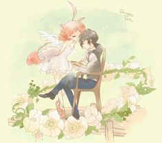 Princess Tutu in the arms of her true prince! Description from pinterest.com. I searched for this on bing.com/images