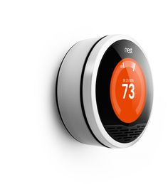 Nest Learning Thermostat - Precisely keeps you comfortable and helps you save energy.  You can even control it from your phone.