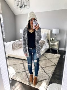 IG: @mrscasual   Winter casual layers