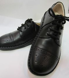 Leather Shoes for Walking (Rubber Sole)