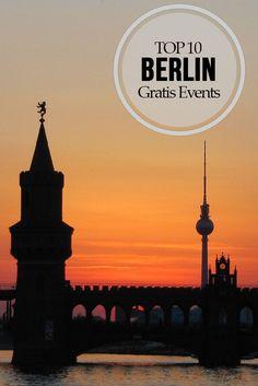 Top 10 Gratis Events in Berlin - Kostenlose Veranstaltungen in Berlin für jeden Geschmack. #kostenlos #Events #Berlin #Insider #Tipps #gratis