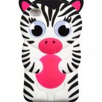 Justice Phone Cases for girls | ... Zebra Tech Case 4 | Girls Cases & More Electronics | Shop Justice