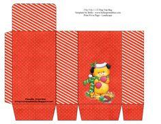 il mio angolo creativo: Sacchettini porta caramelle natalizi
