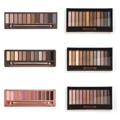 I'm so happy to share these shadow finds with my glamour babes!  If you purchased all three palettes, it will cost you a fraction of the price of Urban Decay